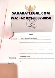 JASA PENDIRIAN PT CV YAYASAN UD FIRMA SAHABATLEGAL.COM WA +62 821-8087-8858