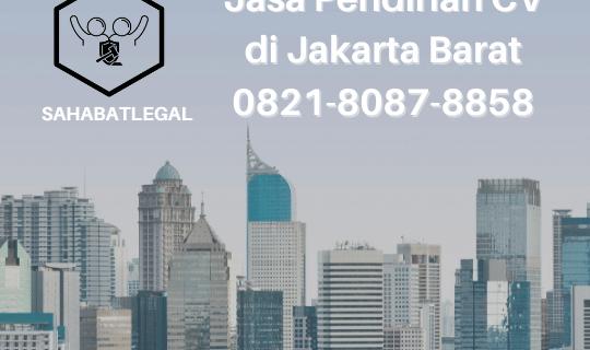 Jasa pendirian CV Jakarta Barat