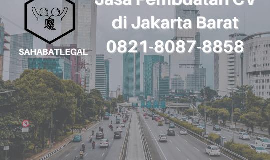 Jasa pembuatan CV Jakarta Barat