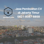 Jasa pembuatan CV Jakarta Timur