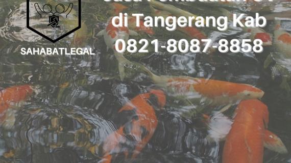 Jasa pembuatan CV Tangerang Kabupaten
