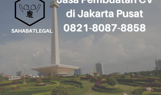 Jasa Pembuatan CV Jakarta Pusat